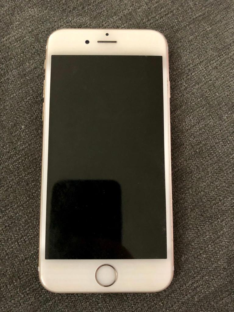 iPhone 6s unlocked 128gb with apple charger case (HOME BUTTON NOT WORKING!)  | in Binfield, Berkshire | Gumtree
