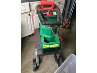 Ryobi Qualcast 2800W Quiet Shredder 735100 Model SDS2810 2 yrs old - used once- to clear garden