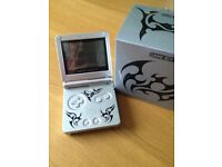 Nintendo Gameboy Advance Tribal handheld console with case