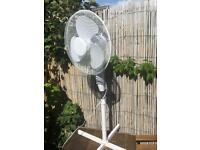 Tall oscillating fan / pedestal - floor