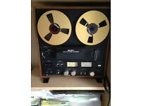 sony tc 399 reel to reel tape recorder with reel nice condition