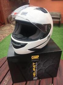 OMP trackday helmet