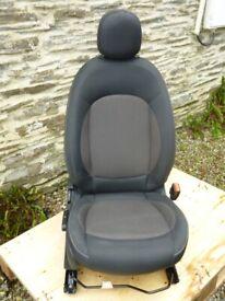 Mini F56. 2015. Front Drivers Seat.