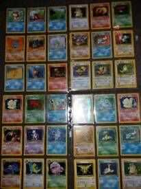 First gen rare Holo Pokemon card collection