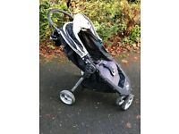 Baby Jogger City Mini Buggy and footmuff