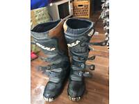 Wulfsport motorcross boots