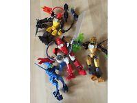 LEGO Bionicle /Hero Factory Joblot - Figures & Assorted Pieces