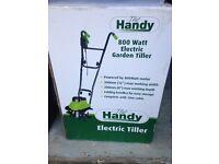 Electric garden tiller