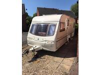 Avondale 555-4 fixed bed 4 berth caravan 2003