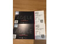 Adele Wembley Wednesdy June 28th Lower Block Close To Stage Tickets x 2.