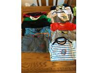Boys tops bundle England kit etc up to 12 months