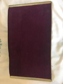 Clutch bag - Plum/Purple