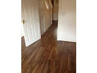 walnut effect laminate flooring 16 brand new boxes