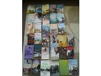Adult reading books