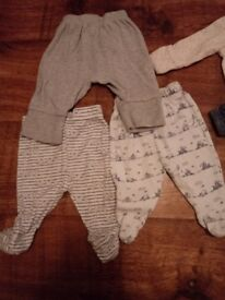 Baby boys clothes first size and 0-3