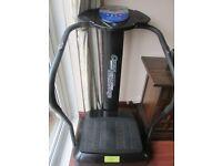 Crazy Fit Massage Vibration Plate Exercise Machine Bodyshaper GLASGOW