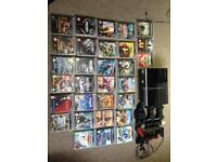 PS3 80GIG and games.