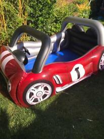 Kids car paddling pool