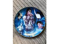 Michael Jackson collectors plate