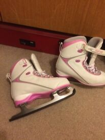 SFR Pink and white ice skates £15