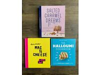 FREE Salted Caramel Dream, The Halloumi Cookbook and Mac N Cheese