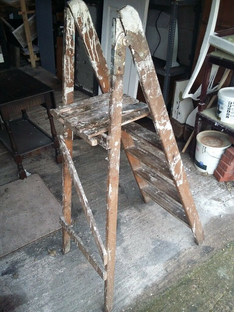 Old Wooden Ladder In Coventry West Midlands Gumtree