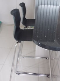 2 Ikea as new breakfast stools.