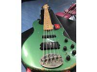 lakeland Bass Guitar 55- 94, Bartoloni pick ups, US original