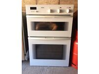 Bosch Double Electric Fan Oven Intergrated