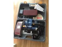 Wooden floor tool sander boxed