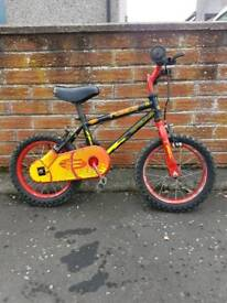 Childs/boys bike would suit age approx 4-6
