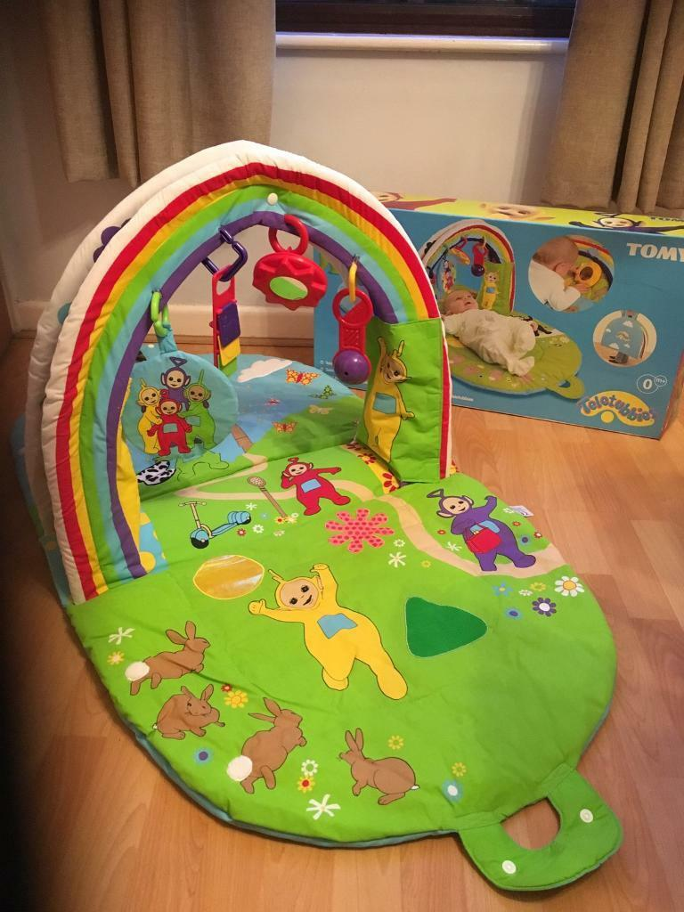 Tomy Teletubbies Soft Activity Baby Gym Mat In Totton