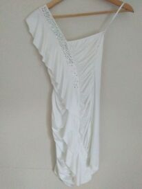 DANCING DRESS - WHITE (S/M)