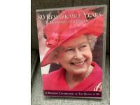 MEMORIES OF A QUEEN 80 REMARKABLE YEARS DVD