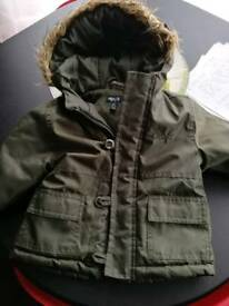 Baby minoti parker coat
