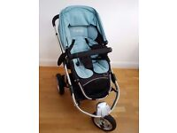 iCandy Apple black pram/carry cot with Imperial flavour pack