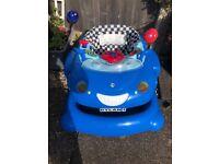 Mothercare baby walker racing car 3 in 1