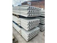 9FT REINFORCED CONCRETE FENCING POSTS > NEW