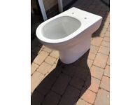 Brand New Tall Phoenix Emma Back-to-wall Toilet Pan and seat.