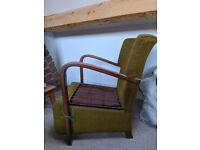 Free Armchair - lovely design, needs upholstering