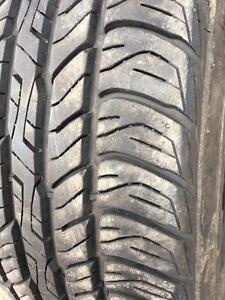 1 pneu 235/55/17 Dunlop ete 9/32