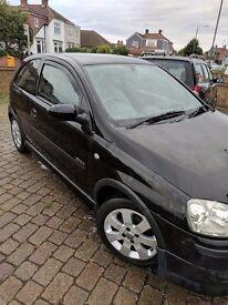 Vauxhall Corsa C SXI+ 2006 1.2 Twinport - Black - 65k Miles - Manual - Irmchser
