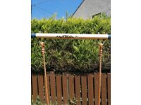 £15 Garden swing with baby seat.