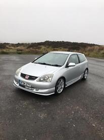 Honda Civic Type R ep3 facelift