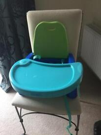 Portable baby diner chair