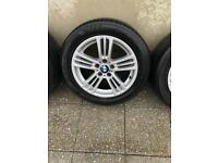 Genuine BMW Alloy Wheels 18inch