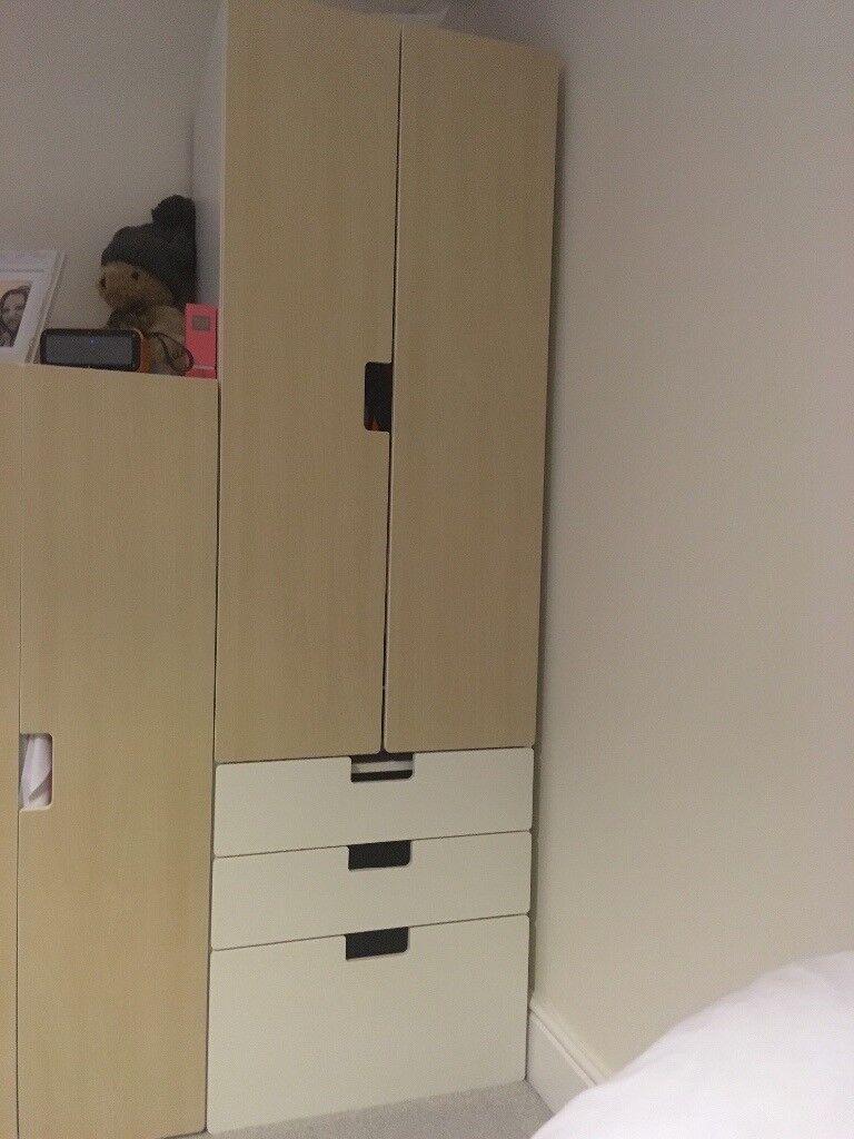 IKEA wardrobe with draws