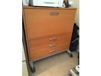 IKEA Filing Cabinet with three drawers