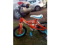 Boy toddler bike