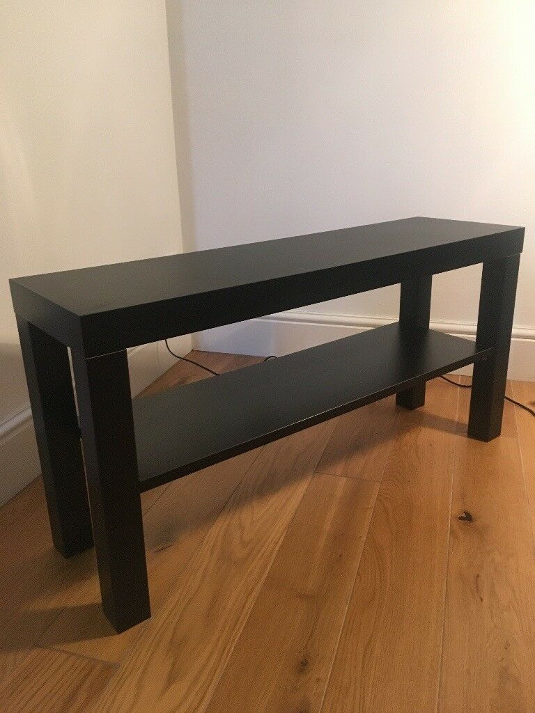 Ikea Lack Tv Bench Small Table Side Table Black Perfect